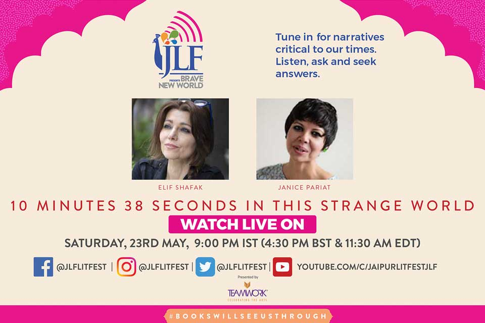 Stories that persist after we're gone - Elif Shafaq with Janice Pariat