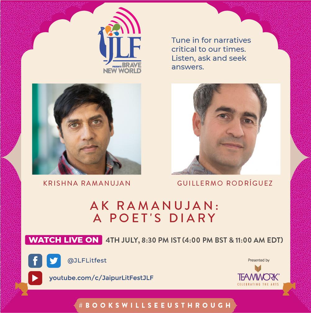 AK Ramanujan: A Poet's Diary                                                                                                                                                                                                Krishna Ramanujan in conversation with Guillermo Rodríguez