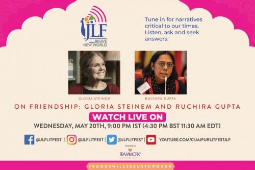 Steinem & Ruchira - Of Friendship, Courage& Laughter