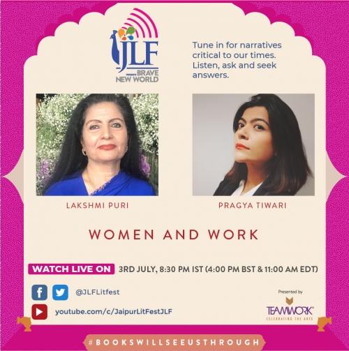 Gendered Norms and the Work Space: Lakshmi Puri in Conversation with Pragya Tiwari